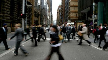 A quarter of Sydney's workforce ... census data has revealed well-paid professionals made up 25.5 per cent of the city's workers.