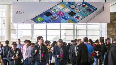 Pipped: Apple's new mobile operating system borrows heavily from Windows.