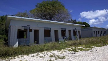 Foreign aid funding ... the old processing centre for asylum seekers in Nauru is one of the sites considered for reopening.