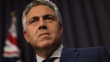 Treasurer Joe Hockey signalled on Thursday he will put in place a debt guarantee for Qantas.