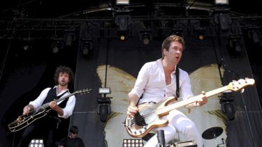 Please listen to this band, m'lud . . . Eskimo Joe's music was played in court during the cases.