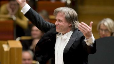 Former MSO chief conductor Markus Stenz will conduct five concerts at the new Hamer Hall.