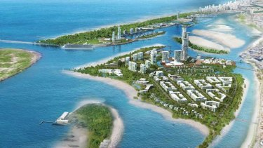 Chinese developer ASF Consortium has been announced as the successful bidder to build an integrated resort at The Spit.