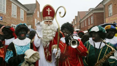 Ho ho no: Sinterklaas and his Pieten in the Netherlands.