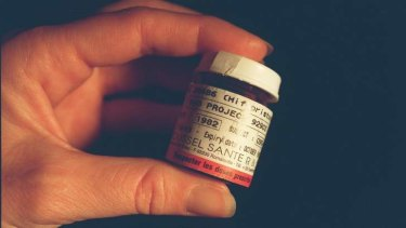 Abortion pill, RU486, also known as Mifepristone.