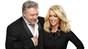 Kiis FM hosts Kyle and Jackie O.
