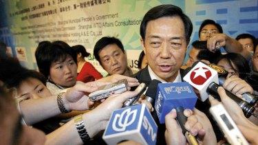Under pressure … Bo Xilai, husband of Gu Kailai.