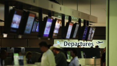 Cheap fares are available 'up to four or five days before departure'.