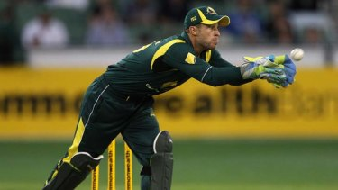 Free spirit  ... Matthew Wade is at home with the bat or gloves.