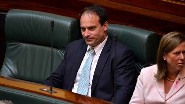 Geoff Shaw: plans to recontest his seat at the November election, even if he is expelled from Parliament.