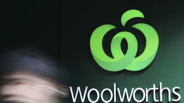 Woolworths stocks up.