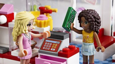 Lego's newest line features female figurines who are curvier than the traditional, blocky Lego characters and visit the cafe and beauty parlour.