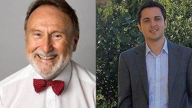 Nedlands mayor Max Hipkins argues Daniel Battaglia's online business is 'legally questionable'.