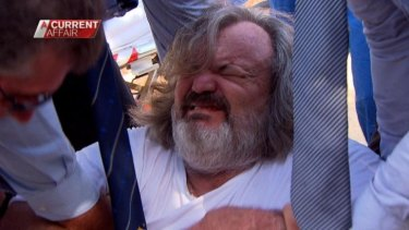 Notorious conman Peter Foster is arrested.