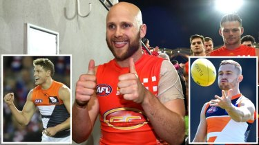 Targets: Geelong are aiming to bolster their midfield depth with Gary Ablett and Giants pair Jacob Hopper and Devon Smith.