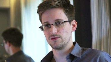 Dispelling the whistleblower image: Edward Snowden.