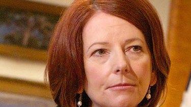 "Julia Gillard ... seeking a ""frank"" national debate on the issue."