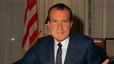 US President Richard Nixon, in 1969.