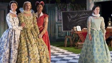 Love's Labour's Lost - Madeleine Jones plays Katherine.