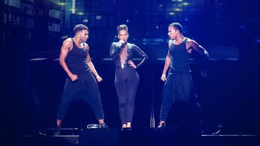 Alicia Keys performs at Perth Arena.