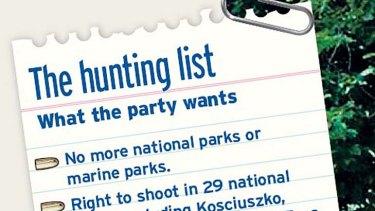 Hunting list