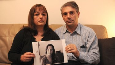 Devastated ... Sara's parents Mila and Pedrag Milosevic want answers.