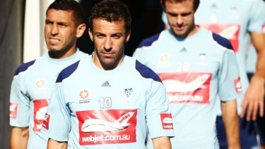 Alessandro Del Piero reportedly played an integral role in the discussions.
