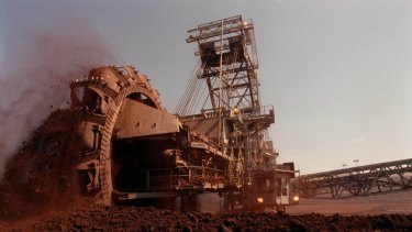 A brown coal mine in the Latrobe Valley