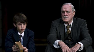School of thought … young star Troye Sivan impresses John Cleese.