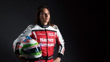 Simona de Silvestro drives into new Supercars season