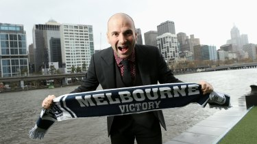 Calombaris deicded to stand down as Melbourne Victory's number one ticket-holder and said he would not attend A-League matches for 12 months as a result of a self-imposed ban.
