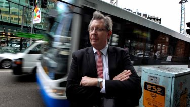 Powerful figure ... the outgoing Director-General of Transport NSW, Les Wielinga.