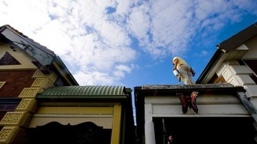 Sky is not the limit: Barclays chief economist Kieran Davies has concerns about Australia's housing market.