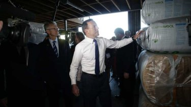 Mr Abbott has called for a judicial inquiry into the insulation deaths.