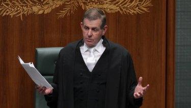 Peter Slipper steps down as Speaker in the House of Representatives.