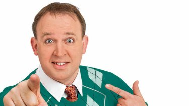 Dad jokes overload in <i>The Tim Vine Chat Show</i>.