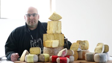 Bruny Island cheesemaker Nick Haddow.