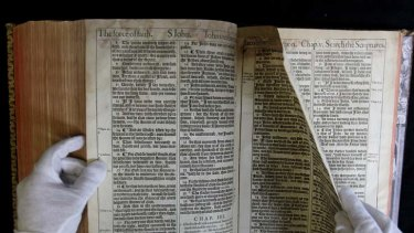 """The """"DNA of the English language"""" ... the King James Bible."""