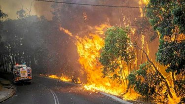Fire sweeps through the Stoneville area.