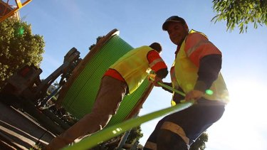 Malcolm Turnbull wants the NBN Co to set realistic rollout targets.