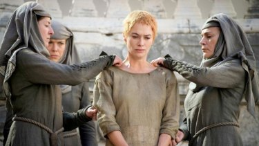 Cersei was able to confess her way back into the Red Keep.