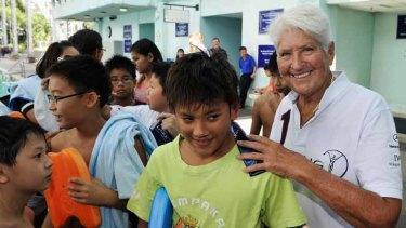 Australian Dawn Fraser is an ambassador for the Laureus Sport For Good Foundation.