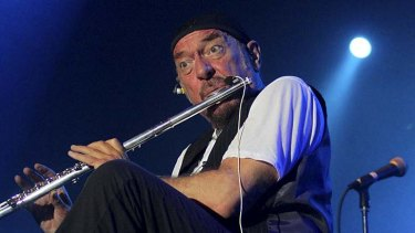Thick as a brick ... Jethro Tull performs at the 22nd Annual Byron Bay Bluesfest.