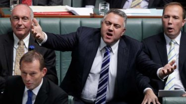 Federal shadow treasurer Joe Hockey.