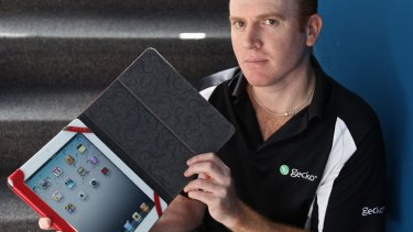 Craig Raymond from Gecko Gear says the company guessed correctly with its iPad 2 cover.