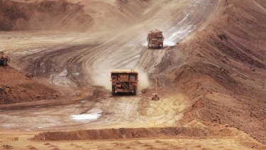 ABN sees a risk of iron ore will drop below $US40 a dry ton.