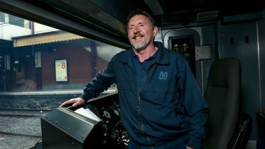 Train driver Phillip Walden