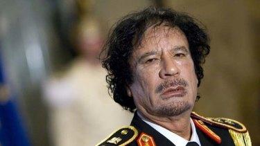Fresh allegations ... Muammar Gaddafi.