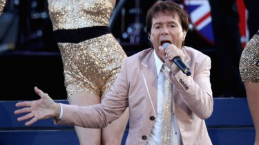 Sir Cliff Richard performs on stage during the Diamond Jubilee concert at Buckingham Palace on June 4, 2012 in London, England.