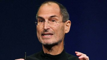 Apple CEO Steve Jobs.
